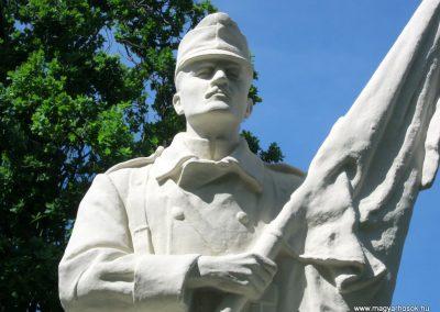 Békéscsaba Hősök temetője I. világháborús emlékmű és katonasírok 2015.05.09. küldő-Emese (3)