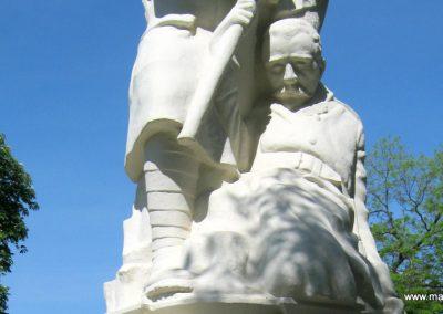 Békéscsaba Hősök temetője I. világháborús emlékmű és katonasírok 2015.05.09. küldő-Emese (4)