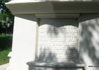 Békéscsaba Hősök temetője I. világháborús emlékmű és katonasírok 2015.05.09. küldő-Emese (5)
