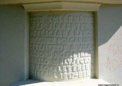 Békéscsaba Hősök temetője I. világháborús emlékmű és katonasírok 2015.05.09. küldő-Emese (8)