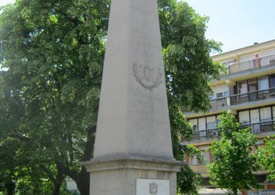 Békéscsaba a 101-esek I. világháborús emlékműve 2015.05.09. küldő-Emese (4)