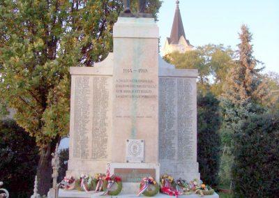 Békésszentandrás világháborús emlékmű 2009.11.01. küldő-miki