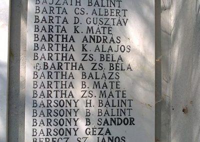 Bélapátfalva világháborús emlékmű 2012.07.07. küldő-Pataki Tamás (3)