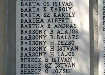 Bélapátfalva világháborús emlékmű 2012.07.07. küldő-Pataki Tamás