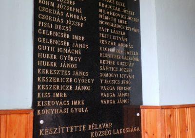 Bélavár II. világháborús emléktábla 2014.05.31. küldő-Huber Csabáné (1)