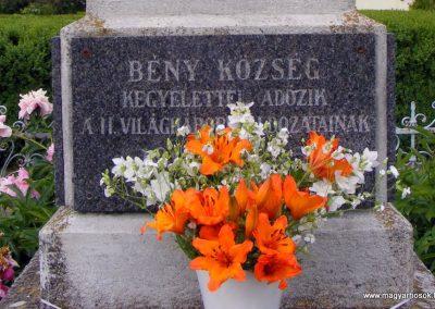 Bény világháborús emlékmű 2013.06.02. küldő-Méri (7)