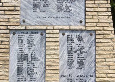 Bérbaltavár világháborús emlékmű 2011.06.18. küldő-HunMi