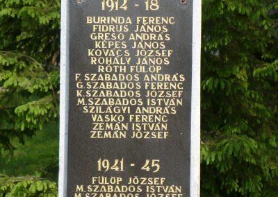 Bódvarákó világháborús emlékmű 2009.05.11.küldő-Gombóc Arthur (3)