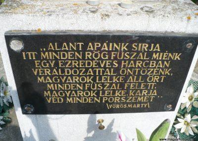 Bódvarákó világháborús emlékmű 2009.05.11.küldő-Gombóc Arthur (4)