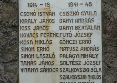 Bózsva világháborús emlékmű 2010.05.08. küldő-Sümec (2)