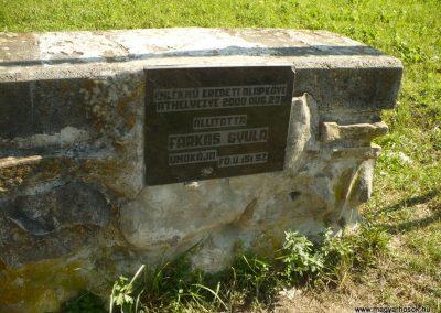 Bözödújfalu I. világháborús emlékmű 2014.07.21. küldő-Gombóc Arthur (4)