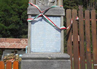 Bözödújfalu I. világháborús emlékmű 2017.08.21. küldő-Fehér Mónika (2)