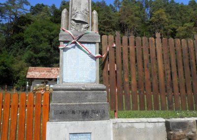 Bözödújfalu I. világháborús emlékmű 2017.08.21. küldő-Fehér Mónika (Mónika 39)
