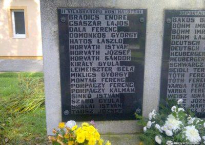 Búcsúszentlászló II. világháborús emlékmű 2012.11.04. küldő - Gráczki-Kulik Veronika (2)