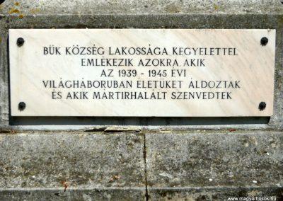 Bük világháborús emlékmű 2011.05.12. küldő-Ágca (4)
