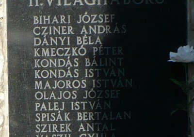 Büttös világháborús emlékmű 2009.05.21.küldő-Gombóc Arthur (3)