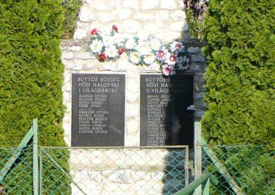 Büttös világháborús emlékmű 2009.05.21.küldő-Gombóc Arthur (4)