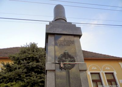 Bős, I. világháborús emlékmű
