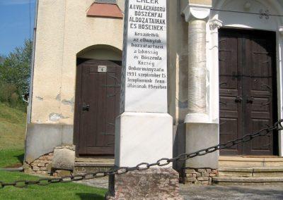 Bőszénfa II.vh emlékmű 2011.04.23. küldő-kalyhas (1)