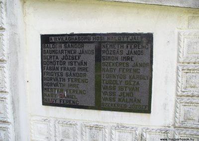 Babosdöbréte világháborús emlékmű 2008.05.25.küldő-HunMi (2)