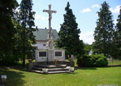 Babosdöbréte világháborús emlékmű 2008.05.25.küldő-HunMi
