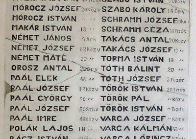 Badacsonytomaj, templom I. világháborús emléktáblák 2012.08.04. küldő-Nerr (5)