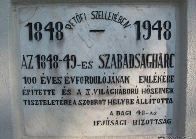Bag Hősi emlékmű 2009.04.10. küldő-kalyhas (13)