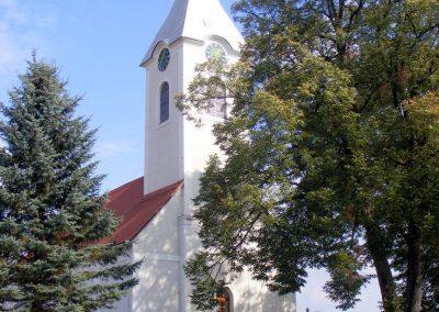 Bajánsenye, evangélikus templom.