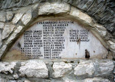 Bajót világháborús emlékmű 2010.06.26. küldő-Sümec (5)