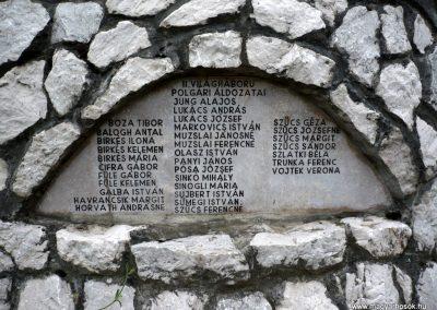 Bajót világháborús emlékmű 2010.06.26. küldő-Sümec (9)