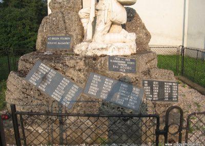 Baj I.vh emlékmű 2008.07.02.külő-Kályhás (2)