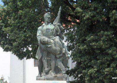 Bajna világháborús emlékmű 2008.07.02. küldő-kalyhas (2)