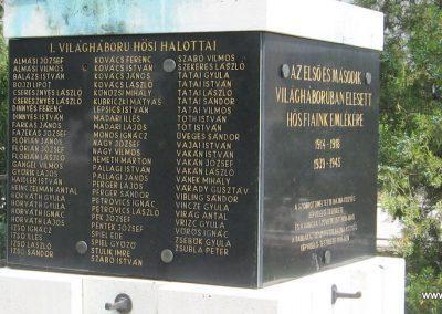Bajna világháborús emlékmű 2008.07.02. küldő-kalyhas (4)