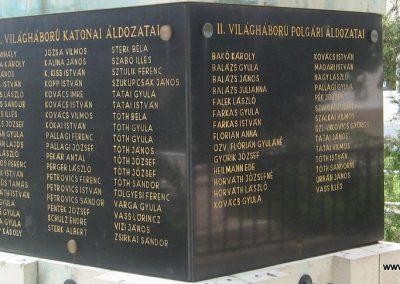 Bajna világháborús emlékmű 2008.07.02. küldő-kalyhas (6)