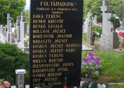 Bajta II. világháborús emlékmű 2013.05.26. küldő-Méri (2)