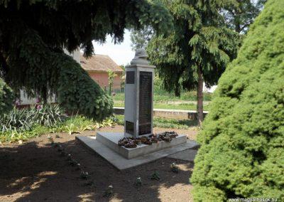 Bakonszeg világháborús emlékmű 2018.05.26. küldő-Bóta Sándor (10)