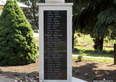 Bakonszeg világháborús emlékmű 2018.05.26. küldő-Bóta Sándor (4)