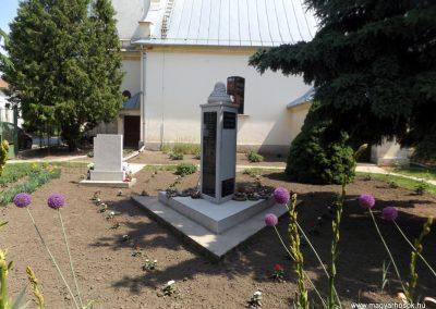 Bakonszeg világháborús emlékmű 2018.05.26. küldő-Bóta Sándor (5)