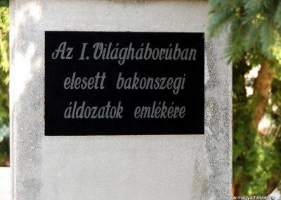 Bakonszeg világháborús emlékmű 2018.05.26. küldő-Bóta Sándor (8)