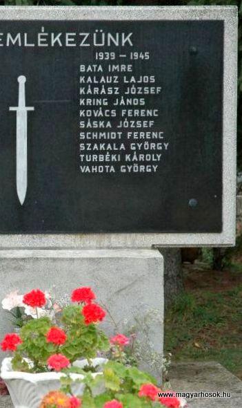 Bakonya világháborús emlékmű 2019.03.04. kldő-Dr.Lázár Gyula Levente (3)