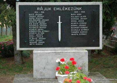 Bakonya világháborús emlékmű 2019.03.04. kldő-Dr.Lázár Gyula Levente
