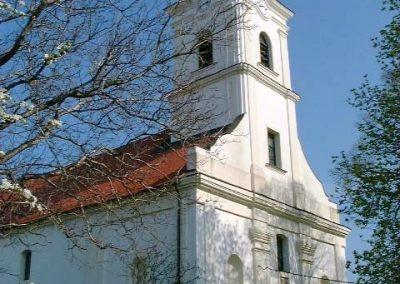 Bakonycsernye, evangélikus templom.