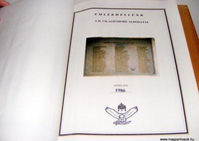 Bakonycsernye evangélikus templom Hősök könyve 2012.09.08. küldő-Méri (8)