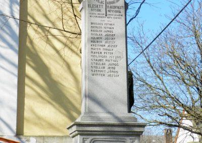Bakonykúti I. világháborús emlékmű 2015.03.07. küldő-Huber Csabáné (1)