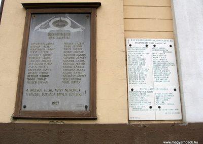 Bakonynána világháborús emléktáblák 2010.07.24. küldő-kalyhas (2)
