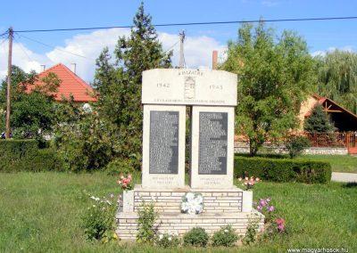 Bakonysárkány, II. világháborús emlékmű