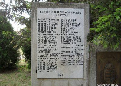 Bakonyszentiván II.vh emlékmű 2010.07.21 küldő-kalyhas (2)