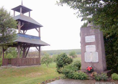 Baktüttös világháborús emlékmű 2012.05.07. küldő-Ágca