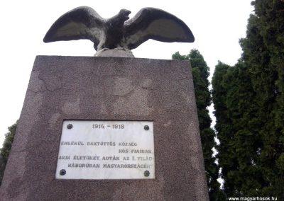 Baktüttös világháborús emlékmű 2012.05.07. küldő-Ágca (5)