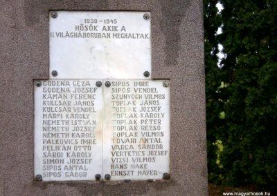 Baktüttös világháborús emlékmű 2012.05.07. küldő-Ágca (6)